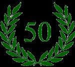 lauwerkrans 50 jubileum