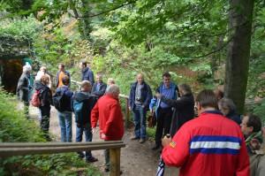 Een twintigtal specialisten bezocht het Boekenbergpark en is van oordeel dat het grottencomplex een erfgoedwaarde van Europees niveau heeft.