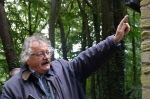 """Wim Meulenkamp (Donderberggroep): """"De follies in het Boekenbergpark maken dit tot één van de beste voorbeelden van een 'jardin anglo-chinois'"""""""
